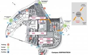 Plan Campus SophiaTech - SoFAB.psd
