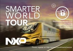 NXP Smarter World Tour Sophia